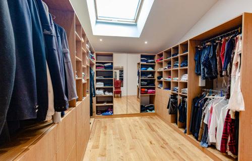 Une pièce dédié à vos vêtements