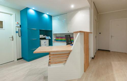 Agencement d'un cabinet dentaire